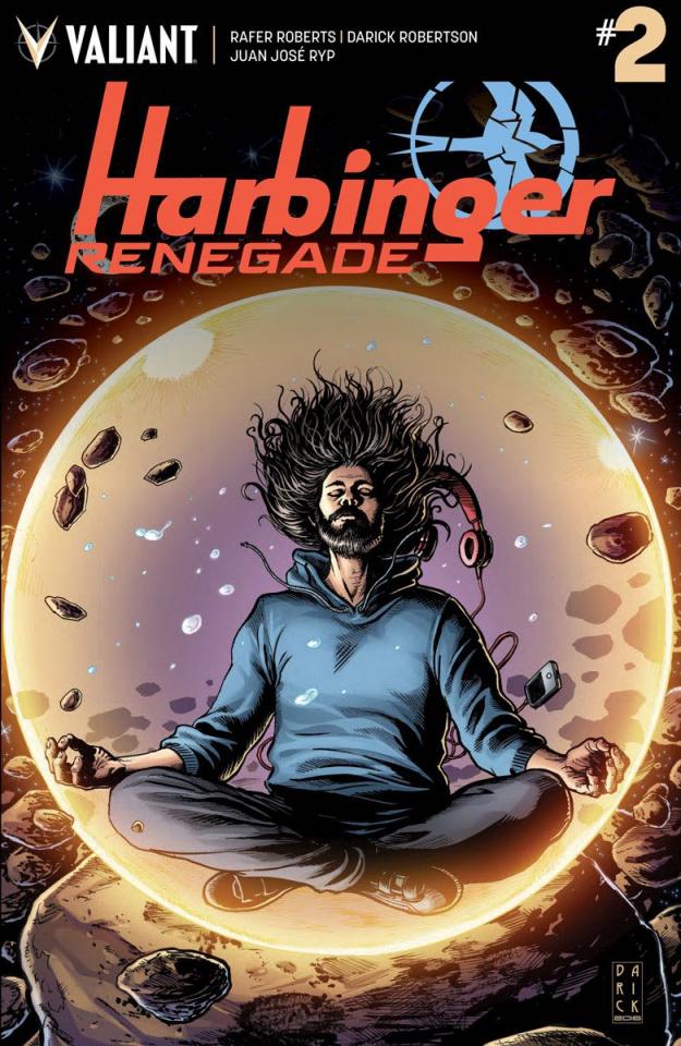 Harbinger: Renegade #2 (Robertson Cover)