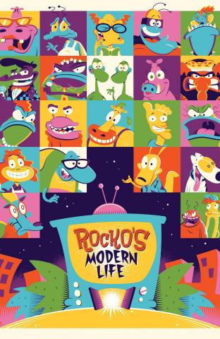 Rocko's Modern Life #8 (Subscription Perillo Cover)