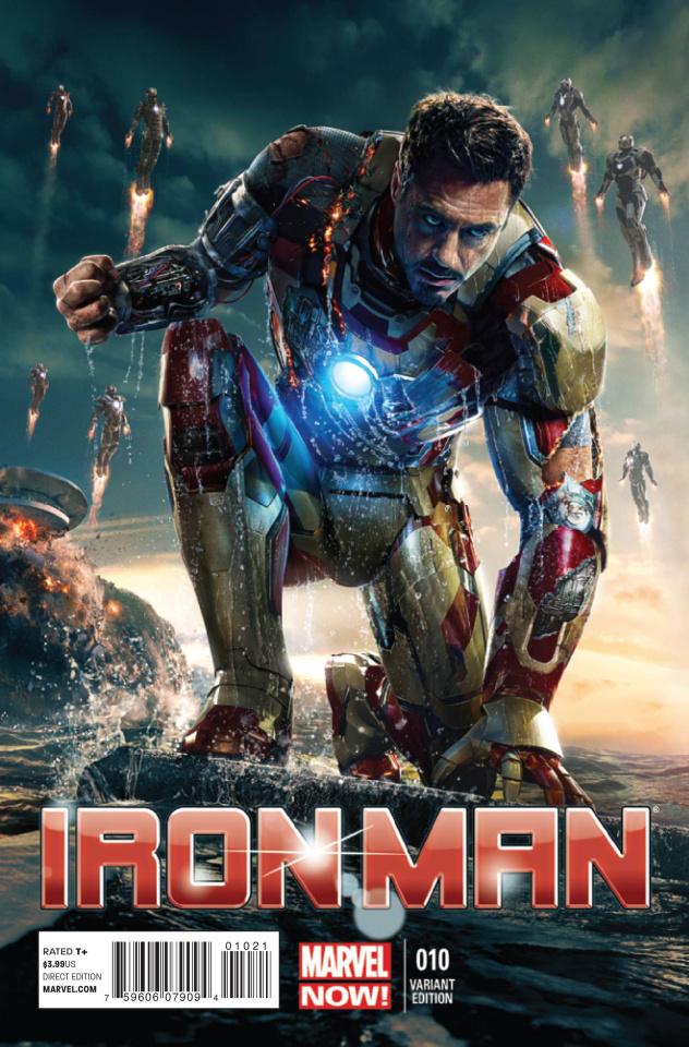 Iron Man #10 (Movie Cover)