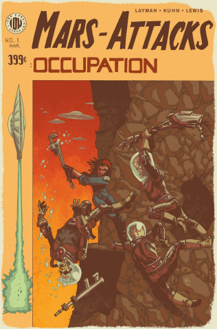 Mars Attacks: Occupation #1 (10 Copy Cover)