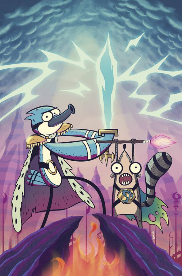Regular Show #22 (Subscription Charm Cover)