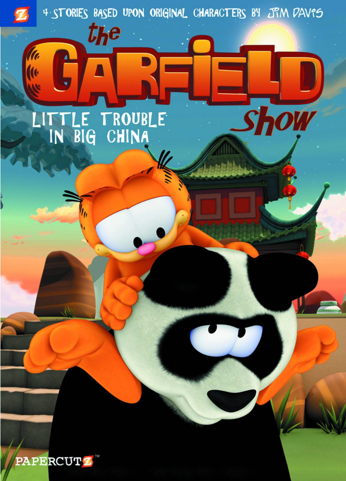 The Garfield Show Vol. 4: Little Trouble in Big China