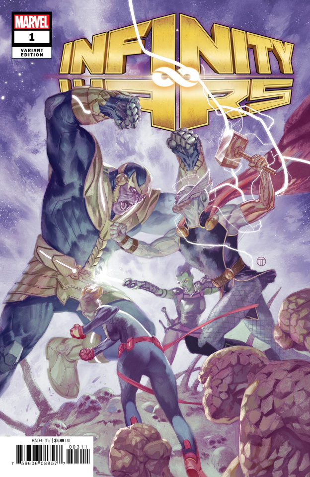 Infinity Wars #1 (Tedesco Cover)