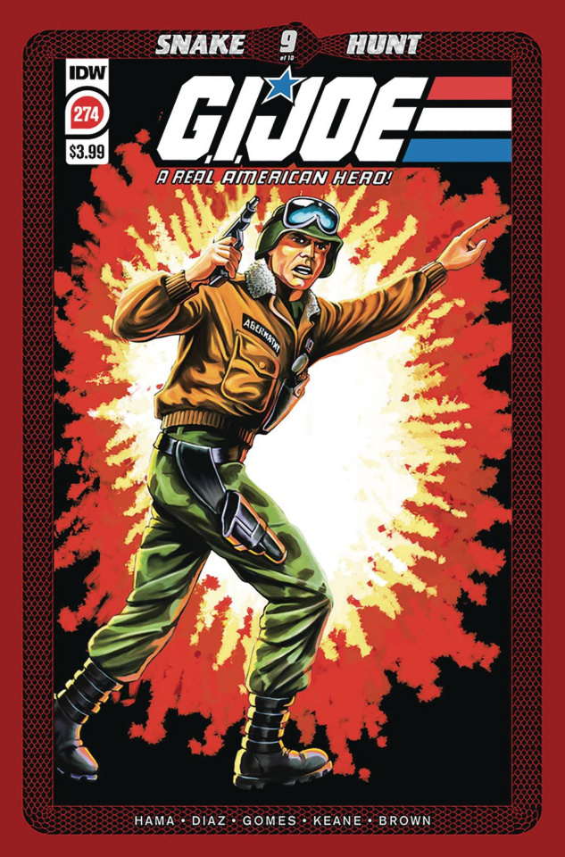 G.I. Joe: A Real American Hero #274 (2nd Printing)