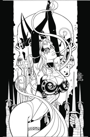 Tarot: Witch of the Black Rose #103 (10 Copy Cover)