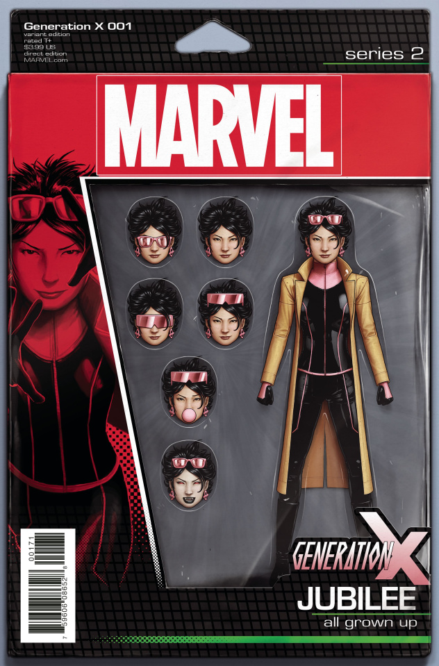 Generation X #1 (Christopher Action Figure Cover)