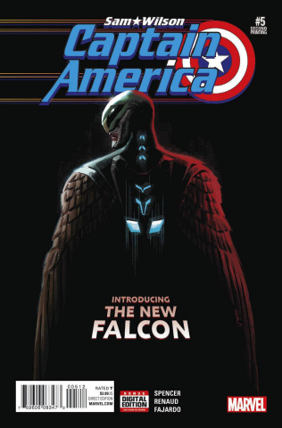 Captain America: Sam Wilson #5 (Acuna 2nd Printing)
