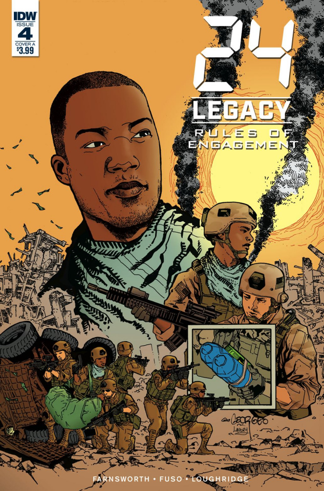 24 Legacy: Rules of Engagement #4 (Jeanty Cover)