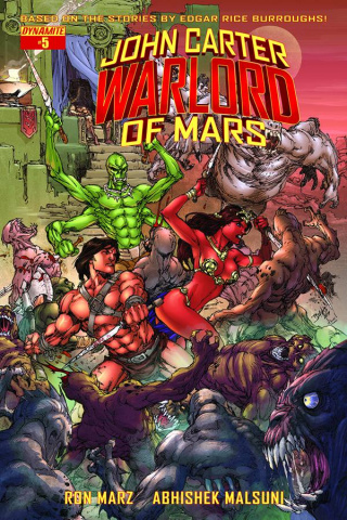 John Carter: Warlord of Mars #5 (Benes Cover)