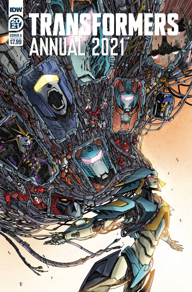 The Transformers Annual 2021 (Alex Milne Cover)