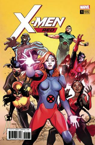 X-Men: Red #1 (Asrar Cover)