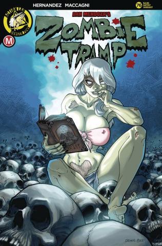 Zombie Tramp #76 (Budd Cover)