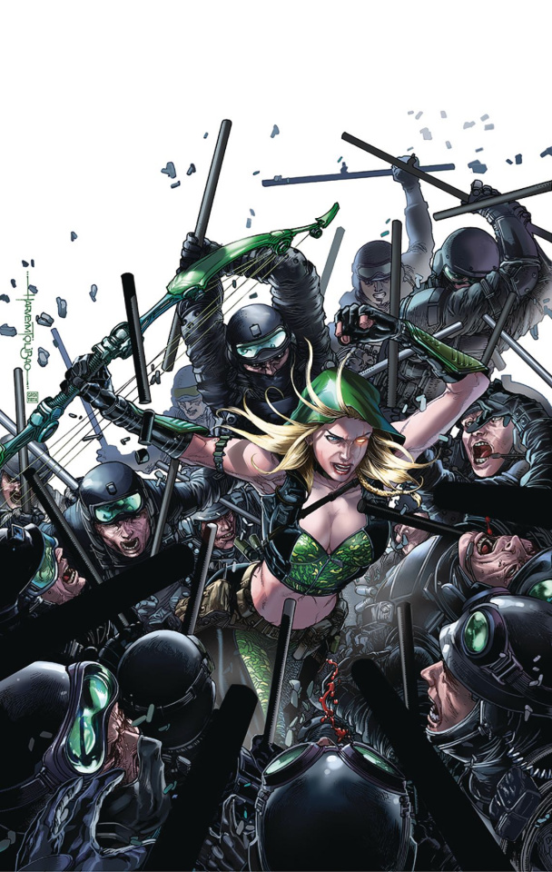 Robyn Hood: Outlaw #2 (Tolibao Cover)