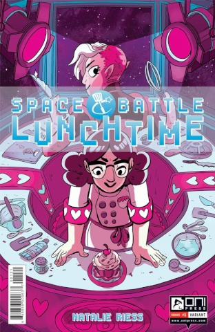 Space Battle Lunchtime #1 (Pietsch Cover)