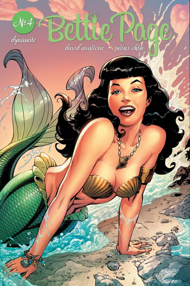 Bettie Page #4 (Royle Cover)