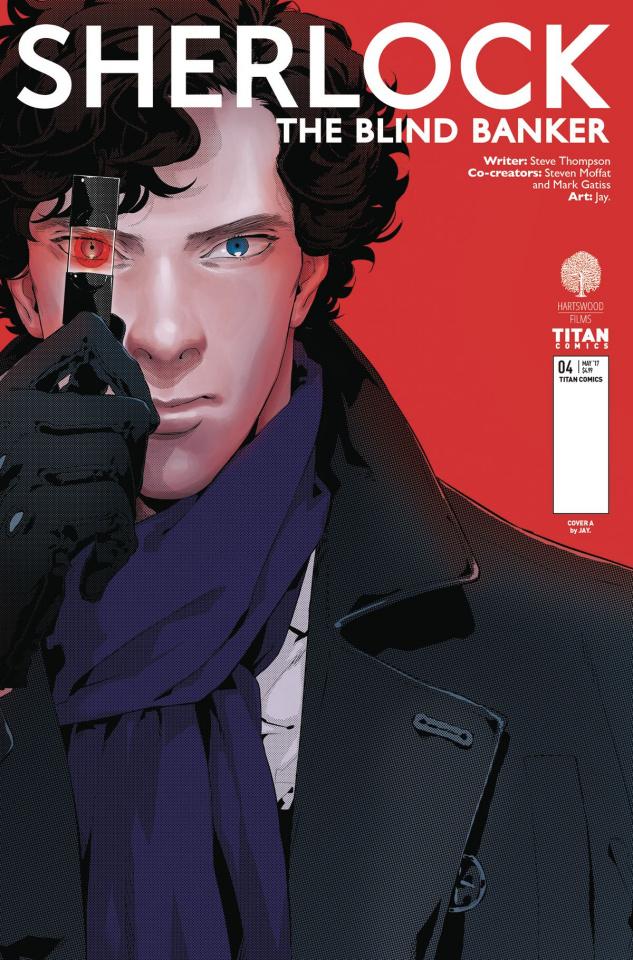 Sherlock: The Blind Banker #4 (Jay. Cover)