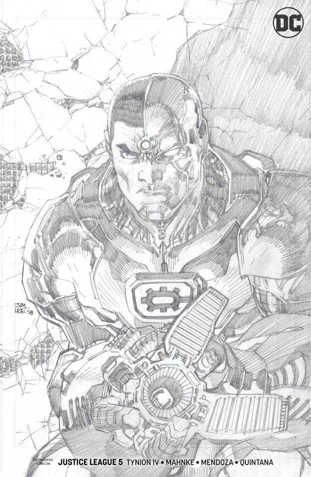 Justice League #5 (Jim Lee Pencils Cover)
