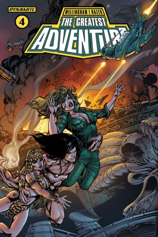 The Greatest Adventure #4 (Castro Cover)