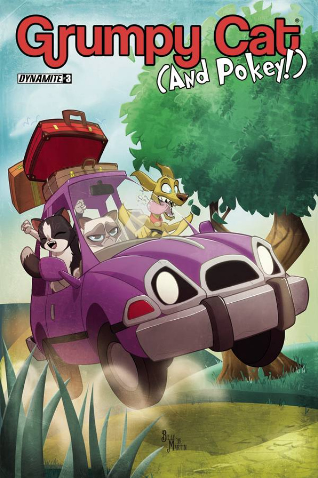 Grumpy Cat (and Pokey!) #3 (Martin Cover)