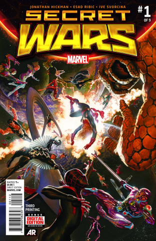 Secret Wars #1 (Ross 3rd Printing)