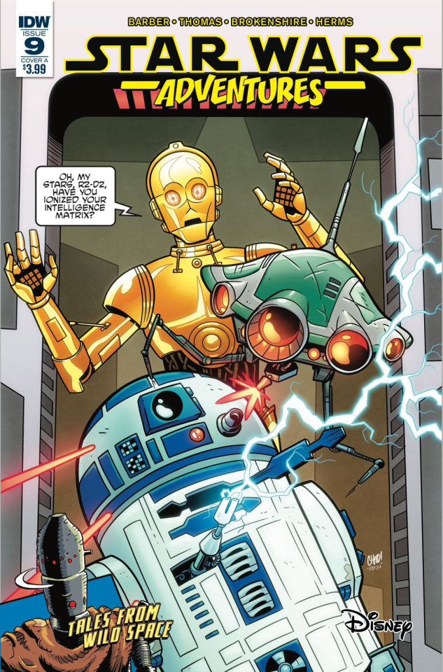 Star Wars Adventures #9 (Thomas Cover)