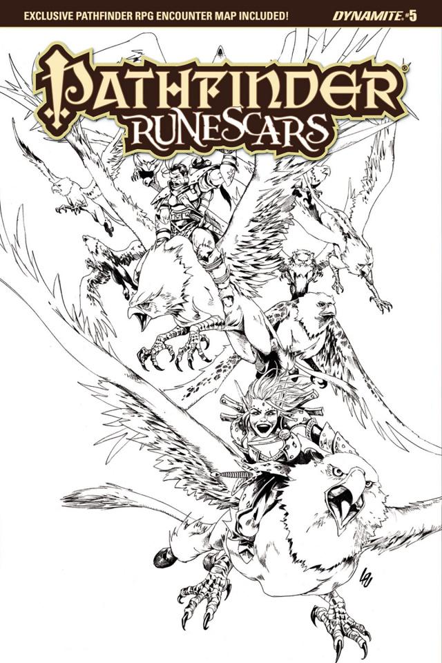 Pathfinder: Runescars #5 (10 Copy B&W Cover)