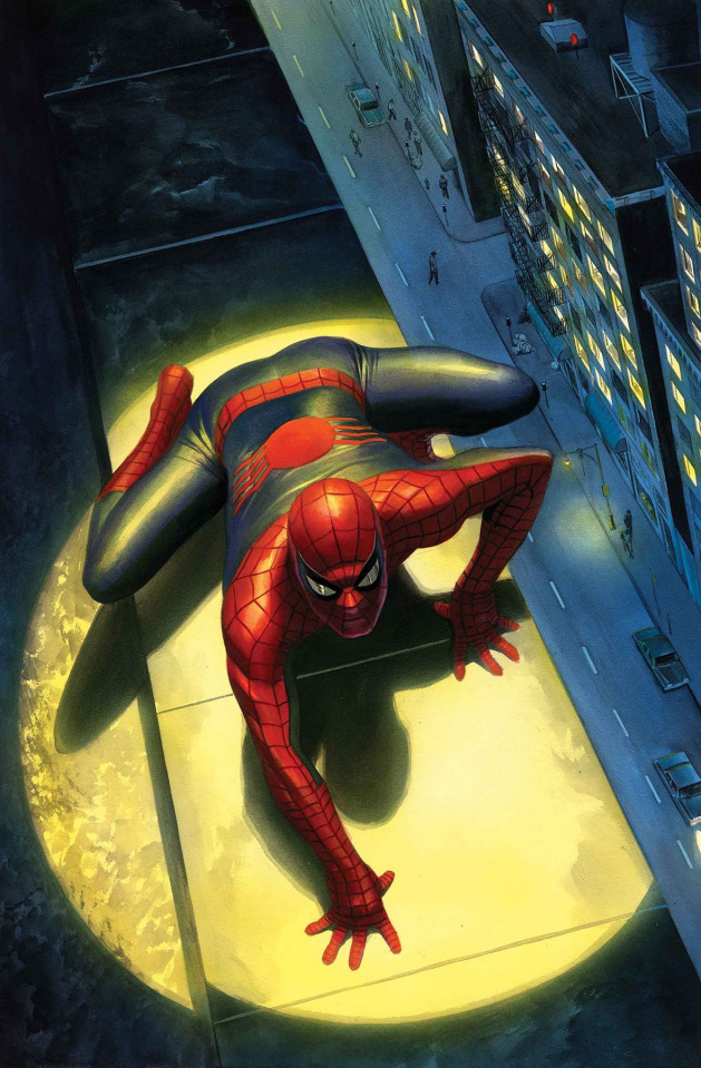 Peter Parker: The Spectacular Spider-Man #300 (Alex Ross Cover)