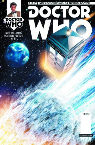Doctor Who: New Adventures with the Eleventh Doctor #12 (Subscription Cover)