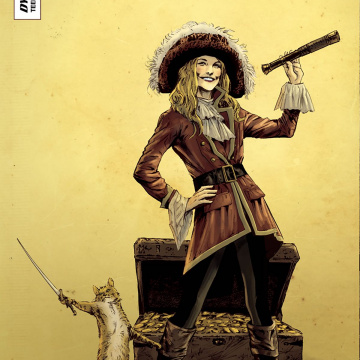 Swashbucklers: The Saga Continues #4 (Guice Cover)