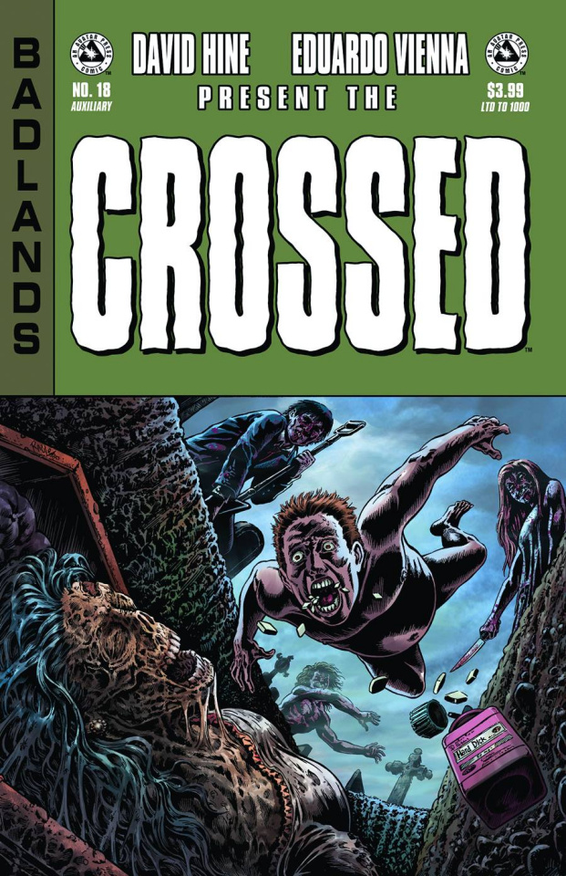 Crossed: Badlands #18 (Auxiliary Edition)
