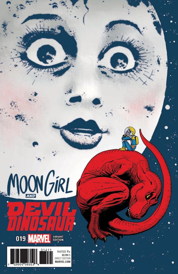 Moon Girl and Devil Dinosaur #19 (Martin Cover)