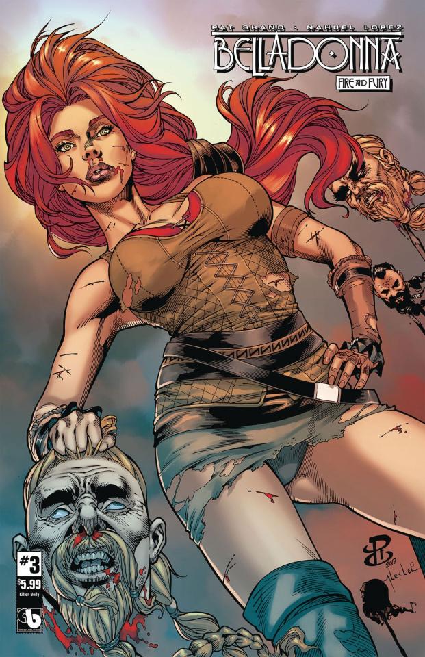 Belladonna: Fire and Fury #3 (Killer Body Cover)
