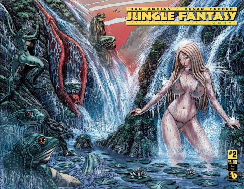 Jungle Fantasy: Ivory #2 (Wrap Cover)