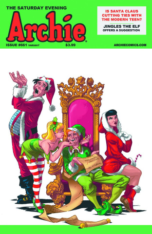 Archie #661 (Holly Jolly Cover)