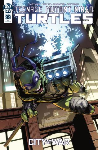 Teenage Mutant Ninja Turtles #99 (10 Copy Schiti Cover)