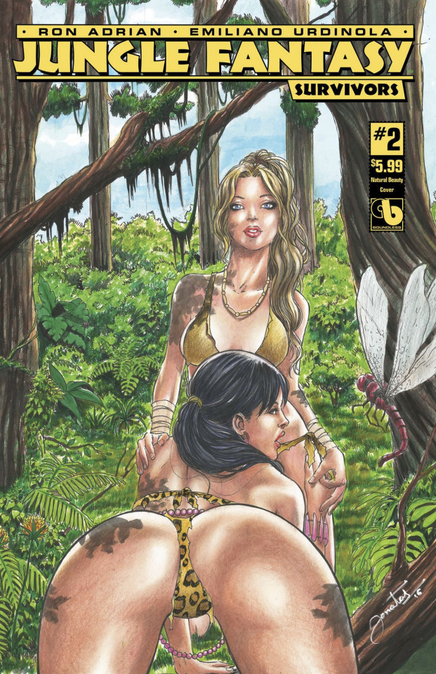 Jungle Fantasy: Survivors #2 (Natural Beauty Cover)