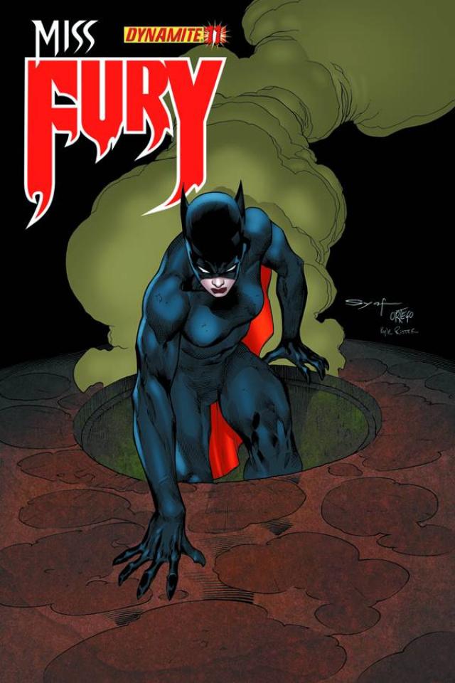 Miss Fury #11 (Syaf Cover)