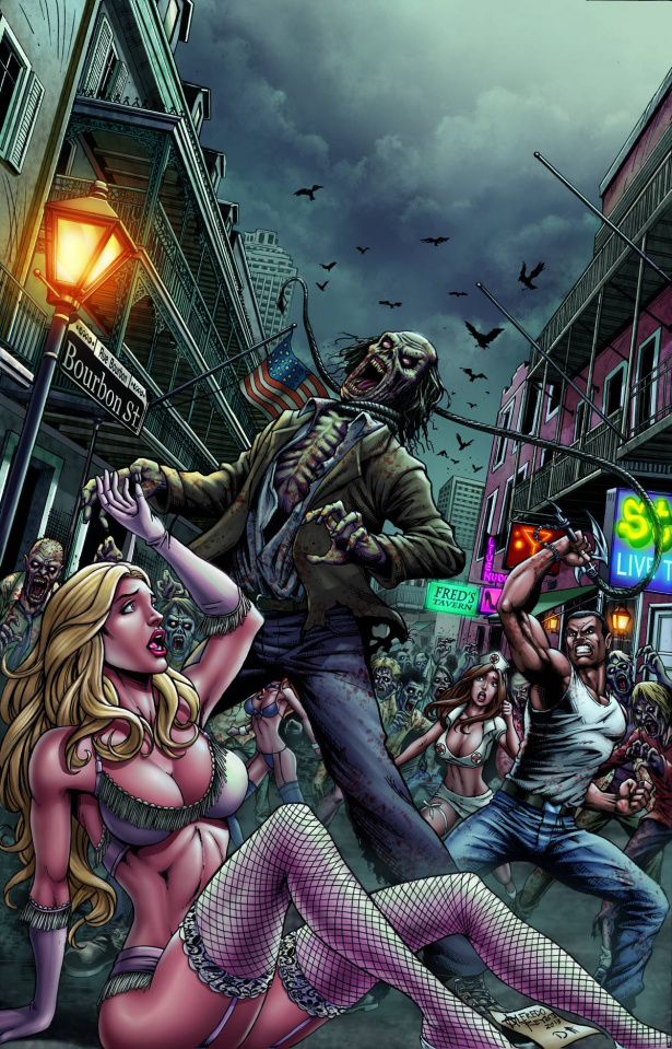 Grimm Fairy Tales: Zombies - Cursed #2 (Reyes Cover)