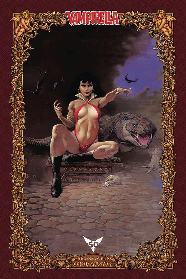 Vampirella #6 (75 Copy Frazetta Icon Cover)