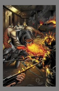 Grimm Fairy Tales: Realm War #4 (Mychaels Cover)