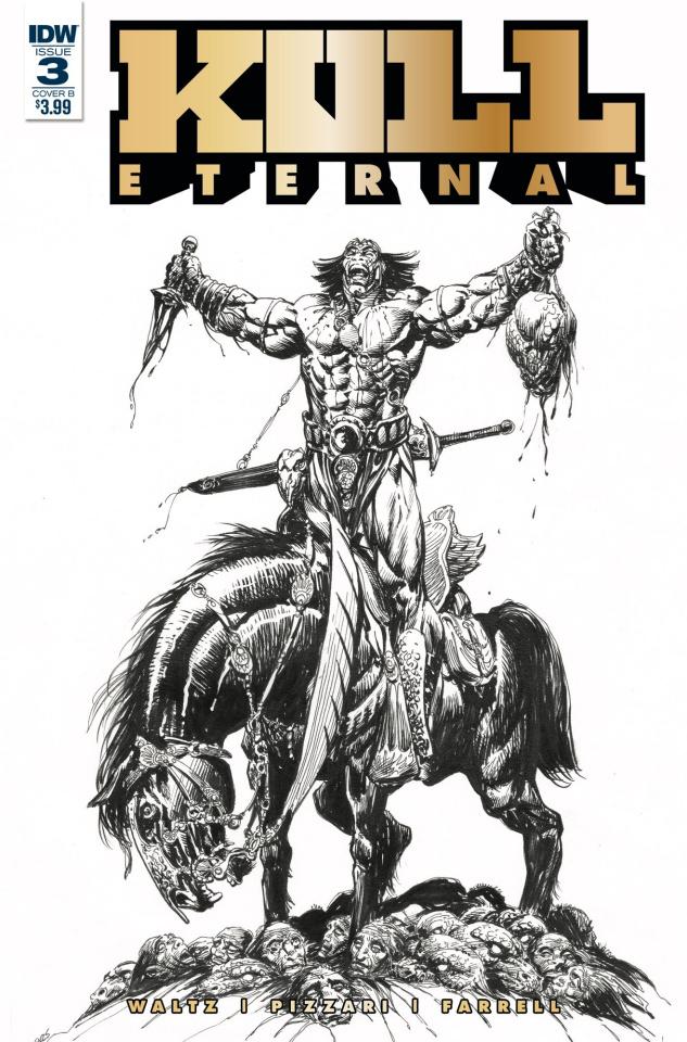 Kull: Eternal #3 (Sears Cover)