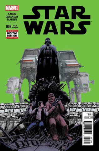 Star Wars #2 (Cassaday 6th Printing)
