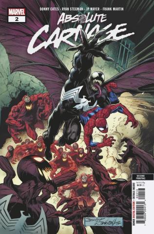 Absolute Carnage #2 (Bagley 3rd Printing)