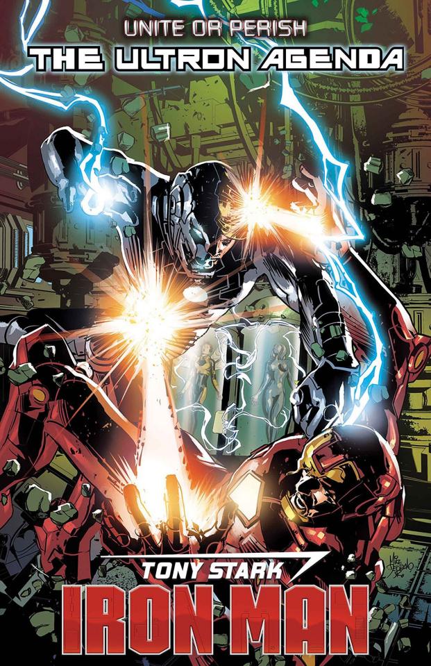 Tony Stark: Iron Man #16 (Deodato Cover)