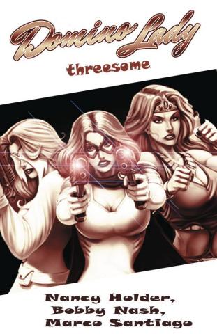Domino Lady's Threesome #1 (4 Copy Cover)