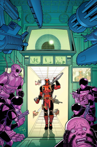 You Are Deadpool #1 (Espin RPG Cover)