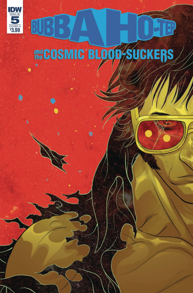 Bubba Ho-Tep and The Cosmic Blood-Suckers #5 (Rivas Cover)