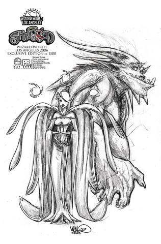 Shrugged Preview (Wizard World LA 2006 Cover)