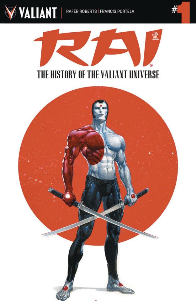 Rai: The History of the Valiant Universe #1 (Crain Cover)