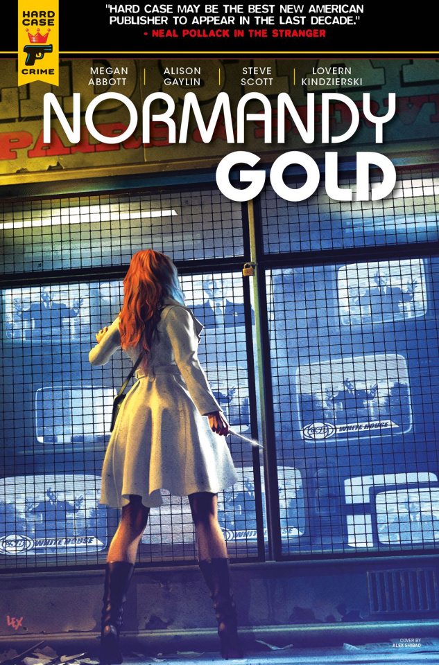 Normandy Gold #4 (Ronald Cover)